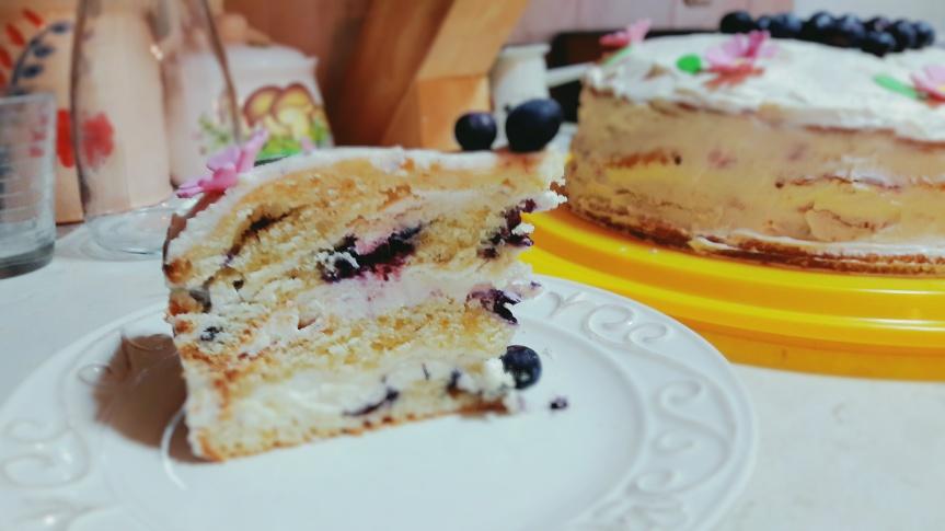 Torta od borovnica ilavande