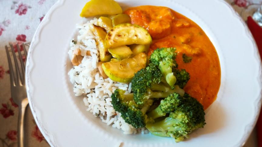 Curry s piletinom imarelicama