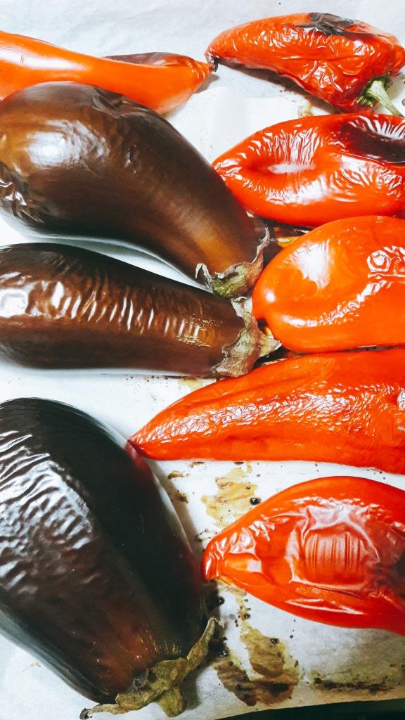 Pečena paprika i patlidžan za ajvar