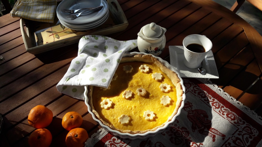 Tart od mandarina