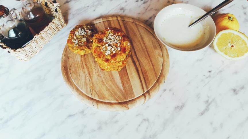 Polpete od tikvica, sira i kvinoje sa zobenim pahuljicama