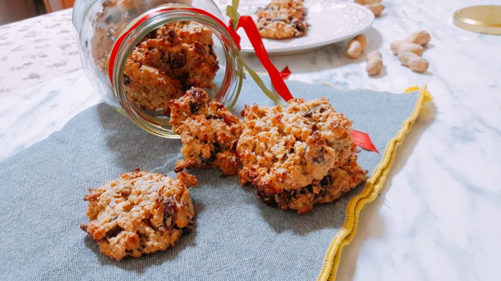 Zdravi zobeni keksi s kikiriki maslacem