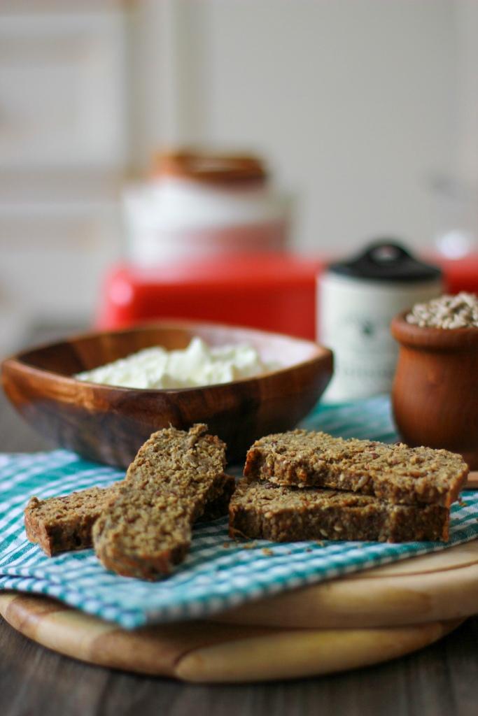 Kruh od bučinog brašna i sira