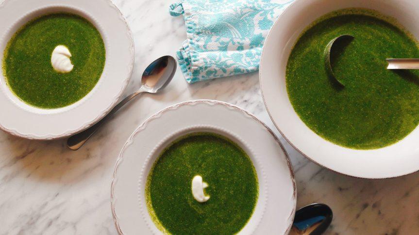 Zelena juha od koprive itikvica