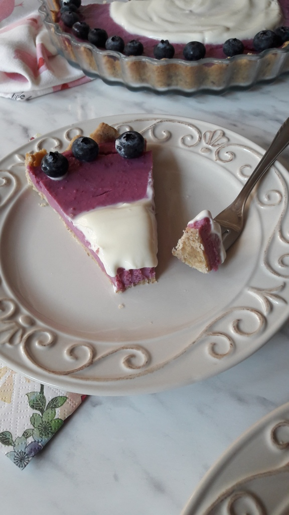 Ljubičasti tart od batata i sira
