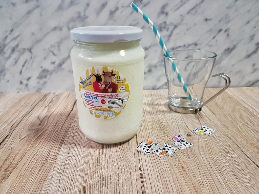 Tekući jogurt Mliječni bar, OPG Mario Krog