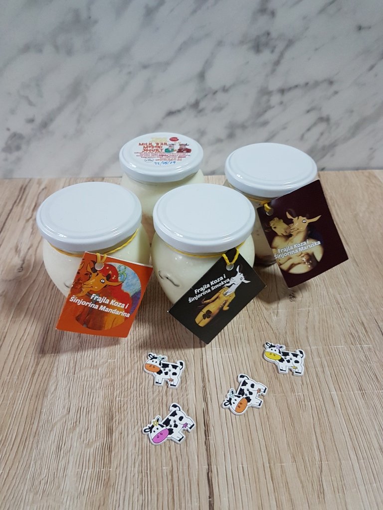 Voćni jogurti Mliječni bar