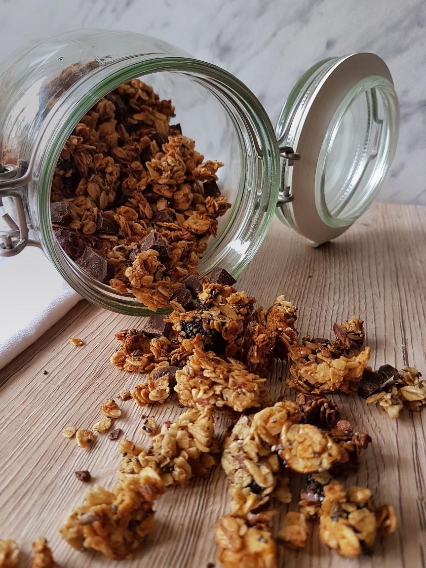 Domaća granola (dvijevrste)