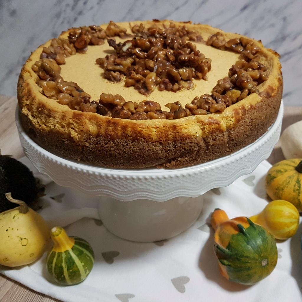 Jesenski cheesecake s bundevom